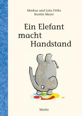 Ein Elefant macht Handstand