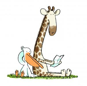 Moritz Verlag Megumi Iwasa Jörg Mühle Viele Grüße Deine Giraffe